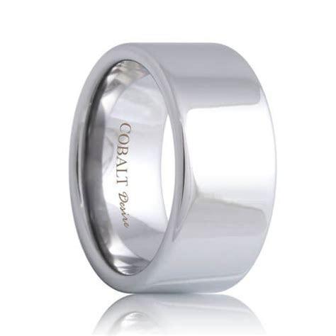 Poseidon Pipe Cut Cobalt Jewelry Wedding Band (4mm   8mm)