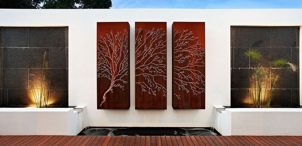 How To Beautify Your House - Outdoor Wall Décor Ideas
