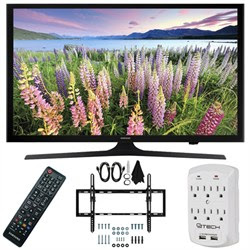 Samsung UN50J5000 - 50-Inch Full HD 1080p LED HDTV Flat & Tilt Wall Mount Bundle