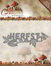 ADD10075 Snijmal Herfst tekst Autumn Moments Amy Design