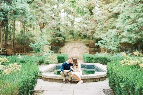 Hunting Hill Mansion Engagement at Ridley Creek State Park