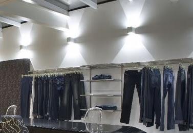 iluminação loja