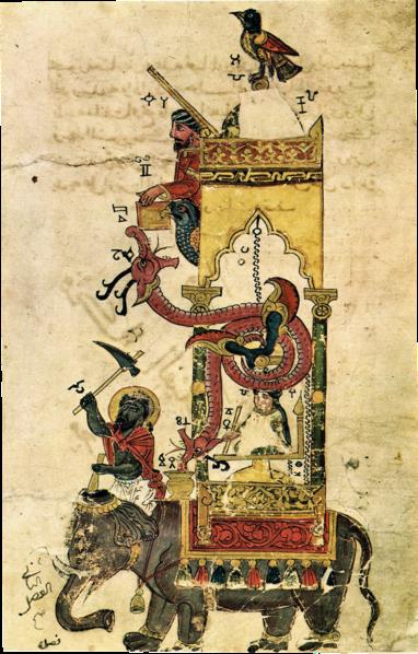 Al-jazari jam gajah