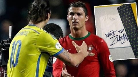 Ibra và Ronaldo