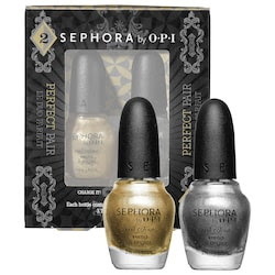 Sephora by OPI Perfect Pairs in Precious Metal-lics
