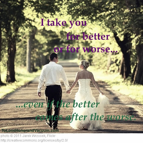 For Better And For Worse Quotes Quotes For Better Or Worse Quotesgram