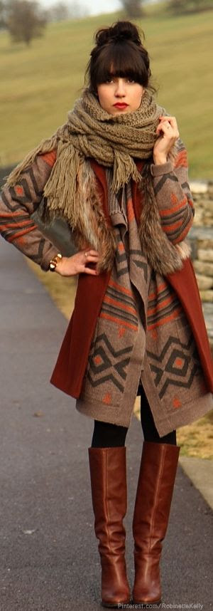 Cool Weather bohemian Style