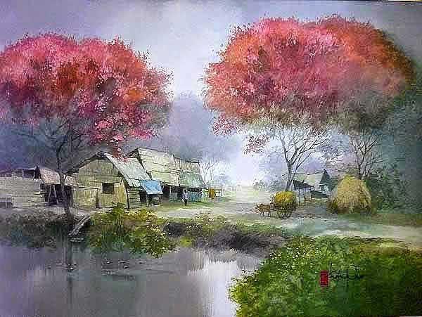 художник Dang Van Can картины – 10