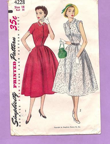 Vintage find pattern S4228