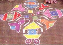 Aripana Rangoli Bihar