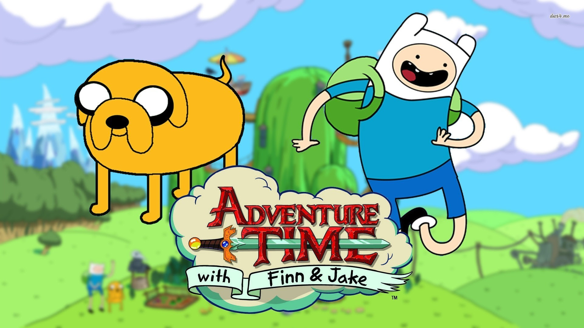 Adventure Time With Finn And Jake Wallpaper 70 Images