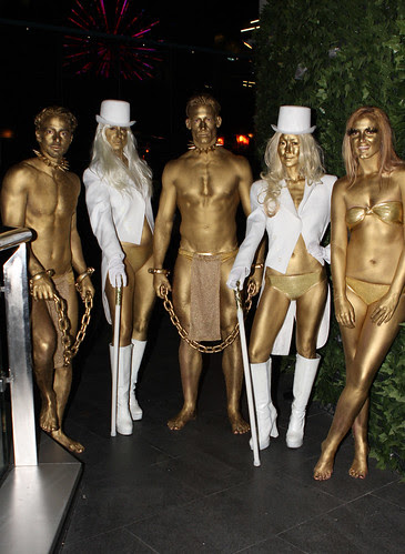 Johnnie Walker Gold Bullion Body Painting Sydney by Eva Rinaldi Celebrity and Live Music Photographer