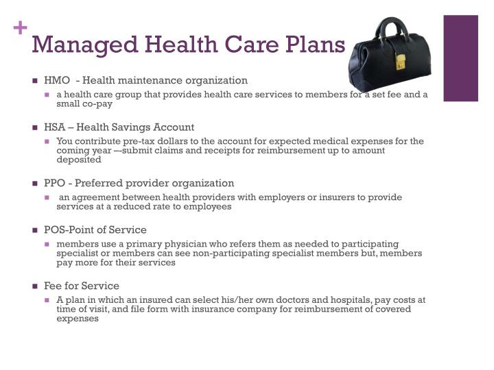 PPT - 7.01: Classify types of health and life insurance ...