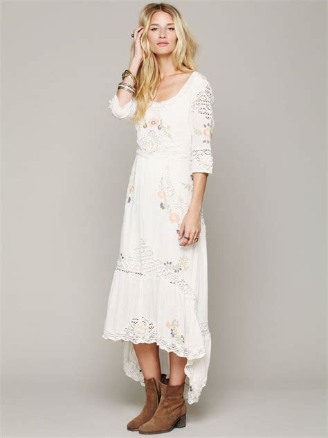 Free People Mexican Wedding Dress   My Style   Pinterest