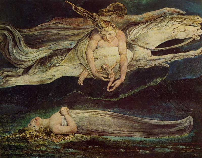 william blake dragon. The Great Red Dragon and the