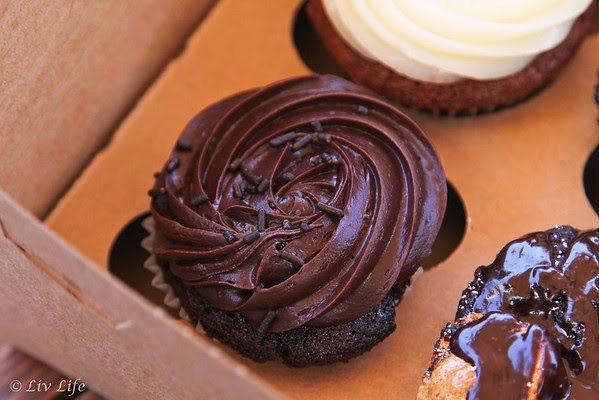 Dark Chocolate Cupcakes from Beach House Baking ... Best I've ever made!