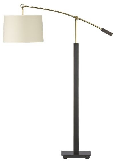 Charles Bronze Floor Lamp - modern - floor lamps - - by Crate&Barrel