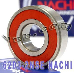 6203-2NSE Nachi Bearing 17x40x12 Sealed C3 Japan Ball Bearings
