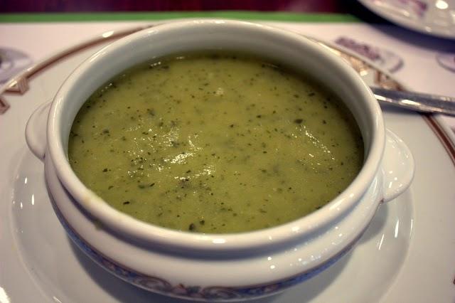 Courgettesoep recept: ingrediënten voor 4 personen