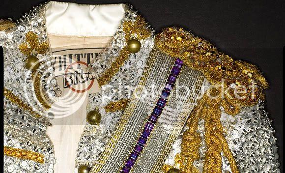 Michael Jackson Swarovski crystals jacket