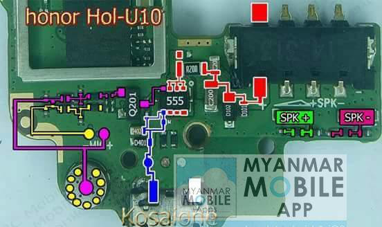 Huawei Honor 3C Play Hol-U10 Mic Problem Jumper Solution Ways Microphone Not Working