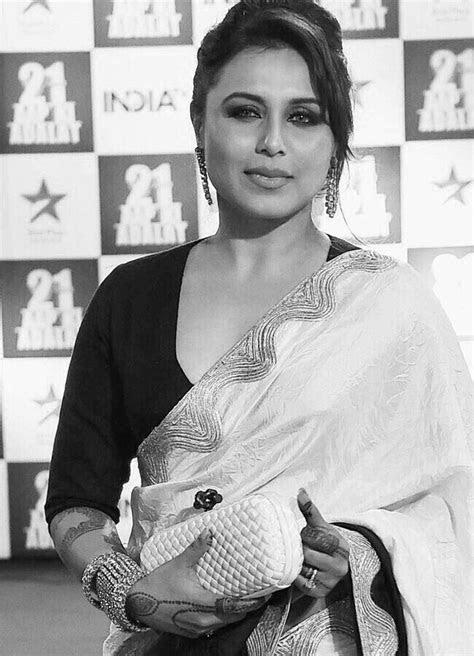 Rani Mukherjee   Bollywood saree, Beautiful indian actress