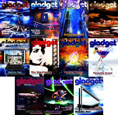 Gladget Magazine 2011 Full Year Collection