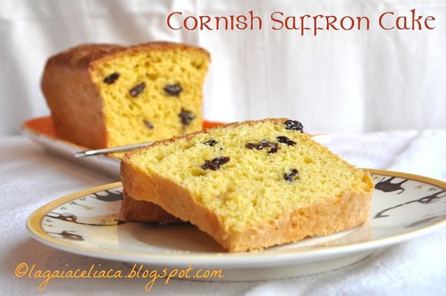 Cornish Saffron Cake gluten free