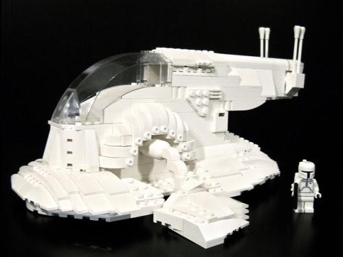 Boba Fett Lego Minifigure. Boba Fett. Once a day.