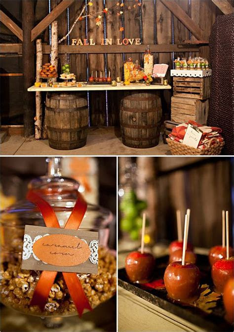 Rustic Fall Wedding Ideas   Dessert table, Red heels and