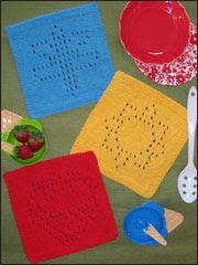 Summer Days Knit Dishcloths