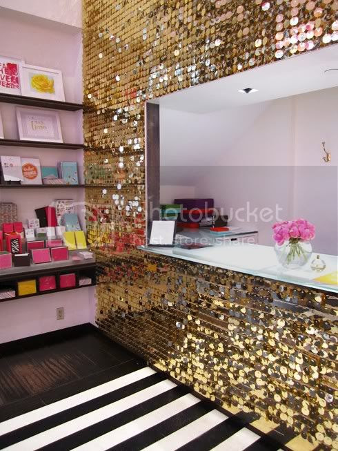 sequence gold wall