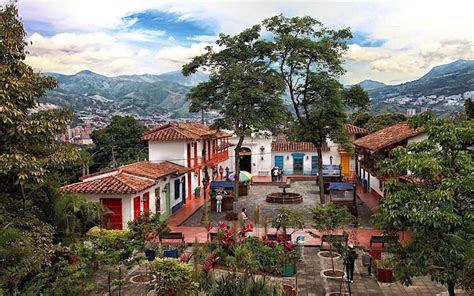 pueblito paisa replica pueblo  great views  medellin