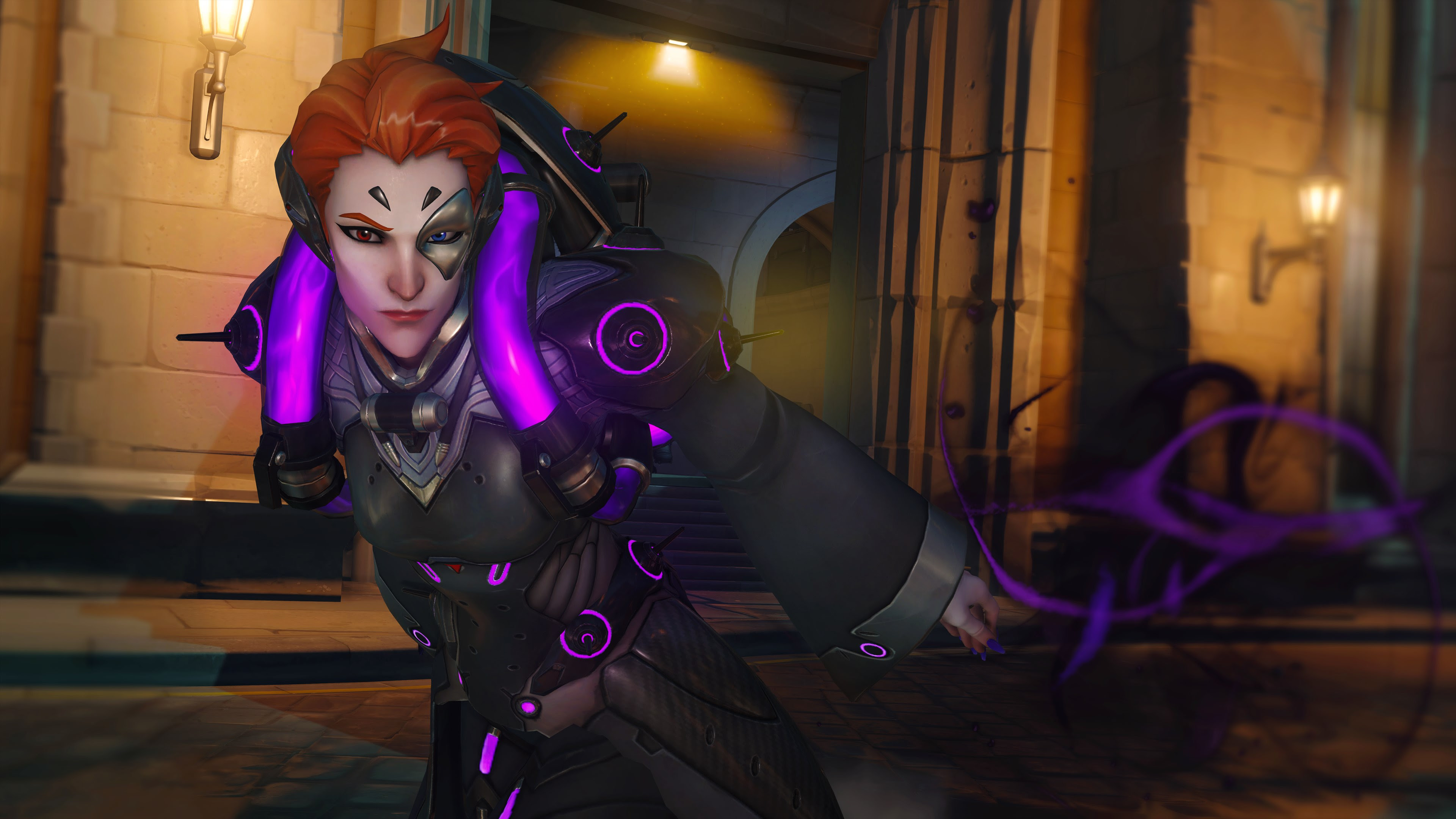 Moira is now available to play in competitive mode in Overwatch screenshot
