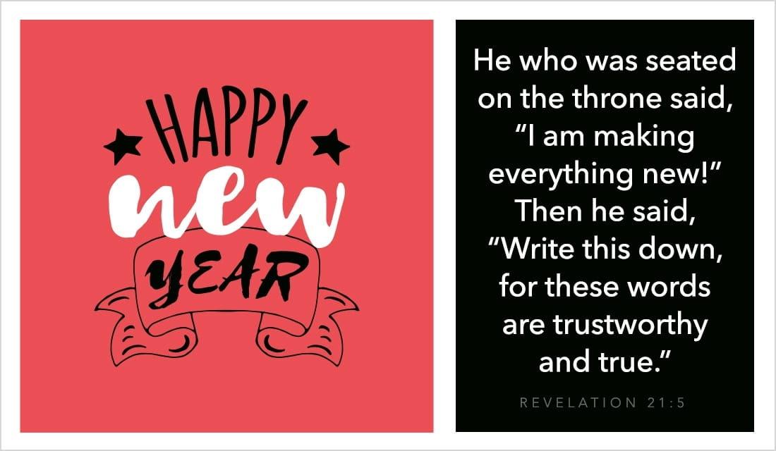 Happy New Year - Revelation 21:5
