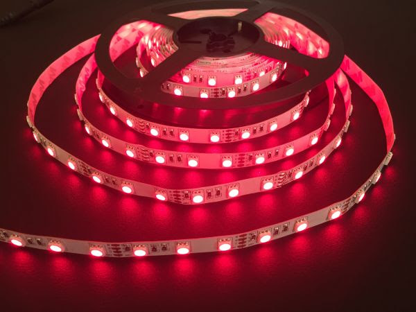 Deep Red 5050 Flexible LED Strip