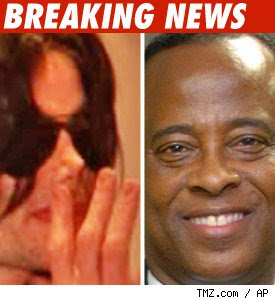dr conrad murray michael jackson's doctor's office raided