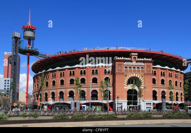 Image result for bullring plaza de espana barcelona