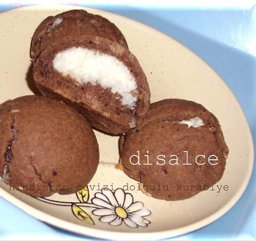 hindistan cevizi dolgulu kurabiye