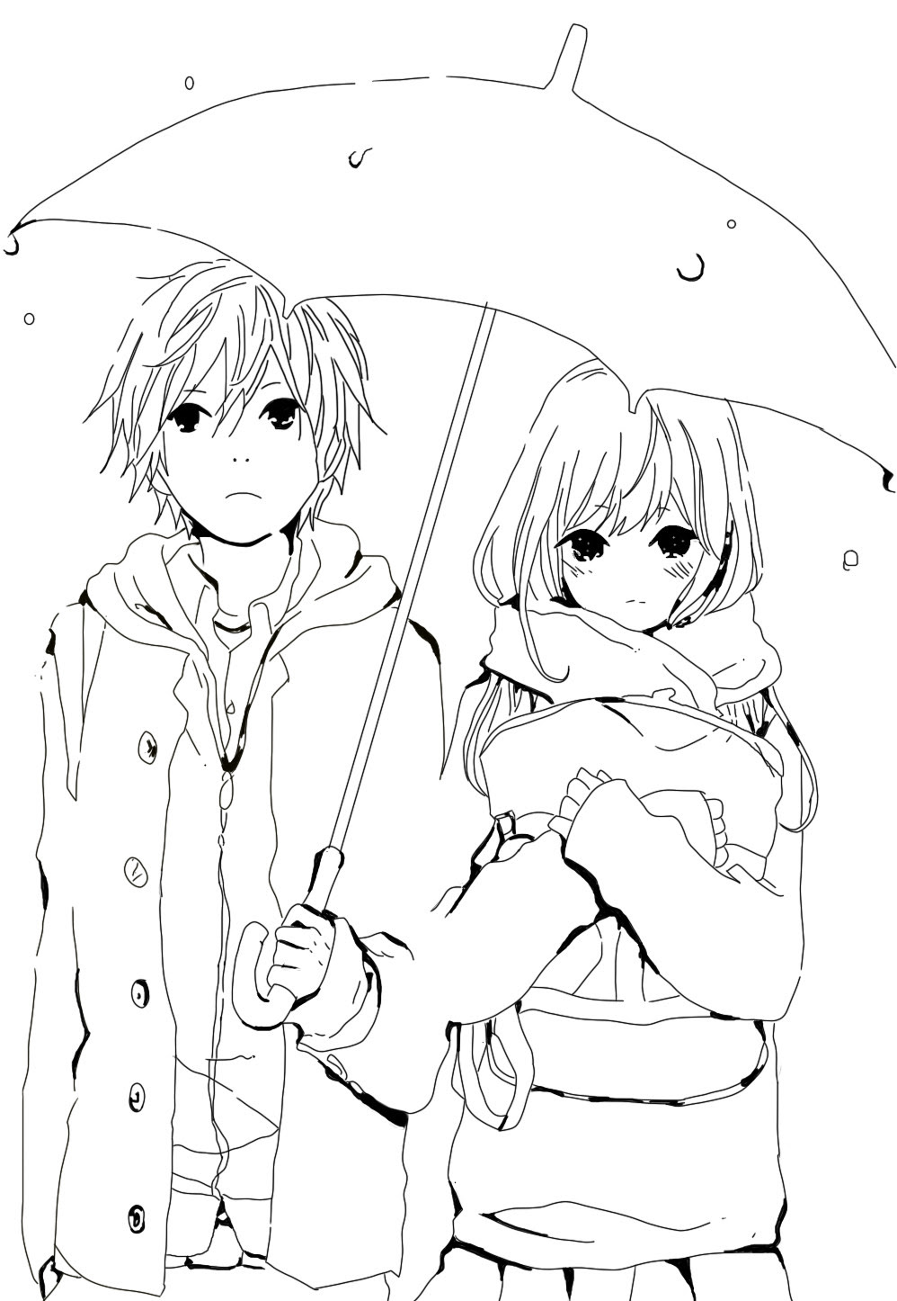 Anime Coloring Pages Best Coloring Pages For Kids Afvere