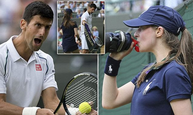 Novak Djokovic loses cool after Nick Kyrgios was in racism row at Wimbledon