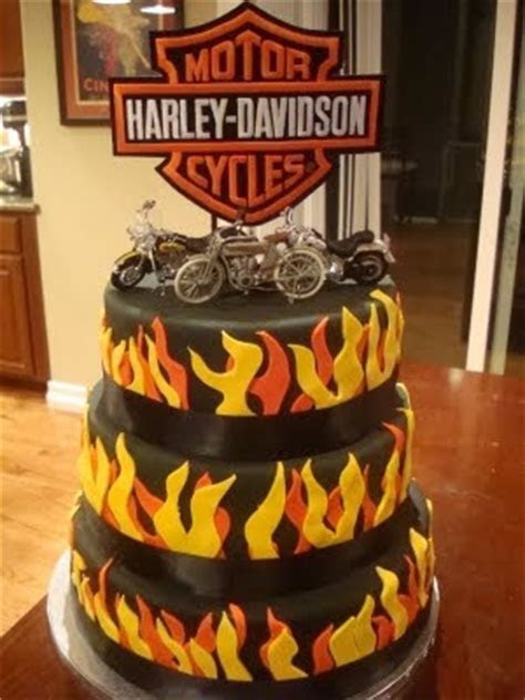100  ideas to try about Cakes ~ Harley Davidson