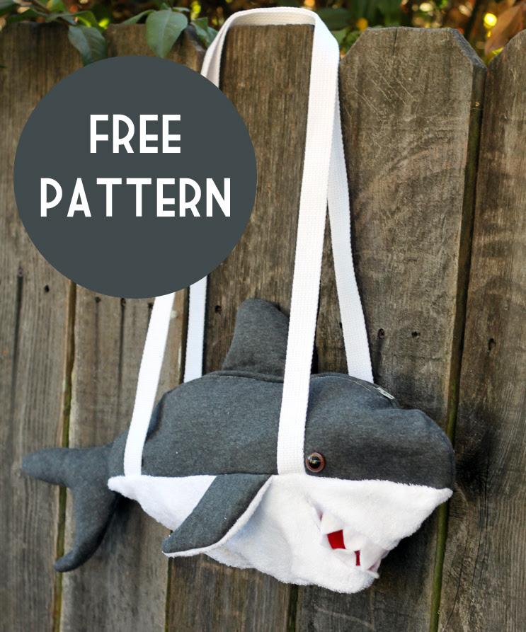 Shark bag pattern