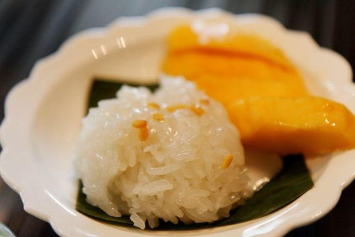 The Everyday Dessert: Thai Mango & Sticky Rice - Organic ...