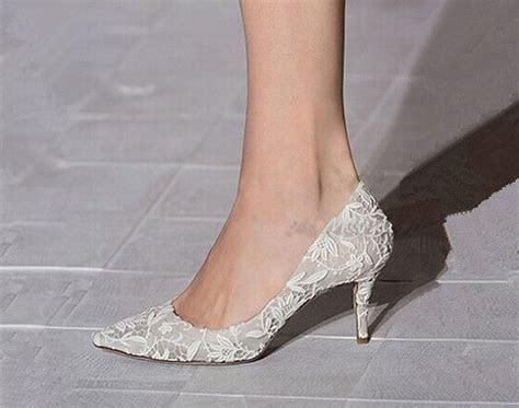 Wedding Shoes/lace Wedding Shoes/ivory Lace Wedding Shoes