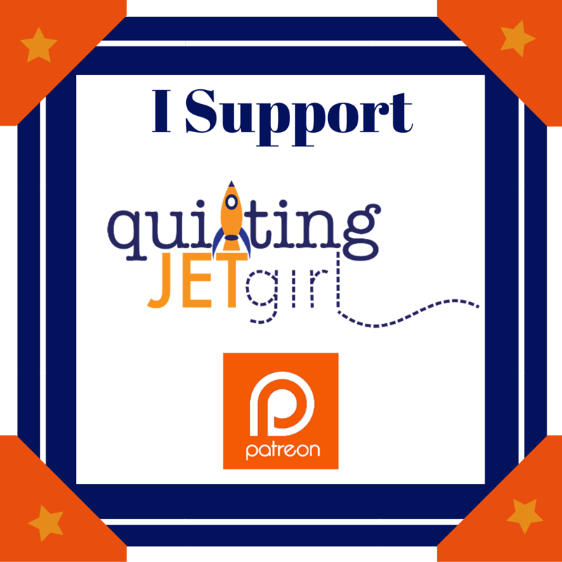 I Support Quilting Jetgirl