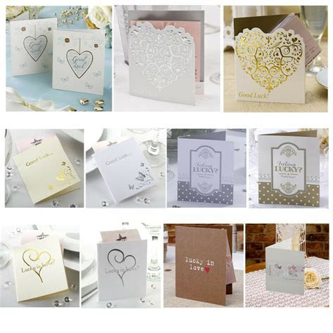 10 Lottery Ticket Scratch Card Holders   Lotto Wedding
