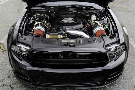 mustang gt  twin turbo hp system