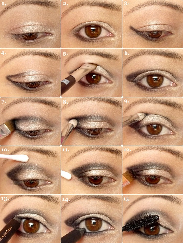 How to apply eyeshadow correctly for girls