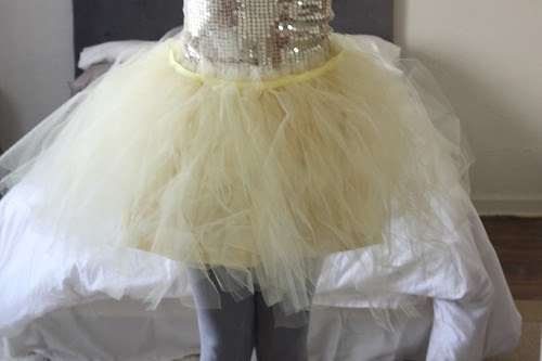 Step 13: Completed Tutu, with Underskirt